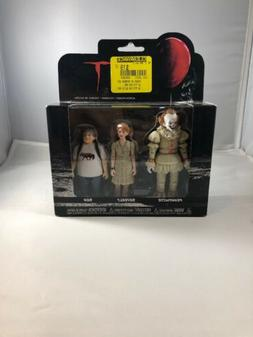 Funko Action Figures: IT - Pennywise, Beverly, Ben 3PK New T