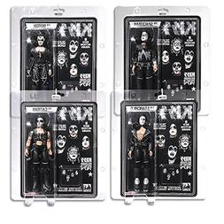 KISS 8 Inch Action Figures Series Two: Set of Four Figures