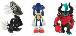 Action Figures - Sonic the Hedgehog - Infinite, Zavok, and S