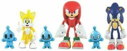 Action Figures - Sonic the Hedgehog - Sonic, Knuckles, Tails