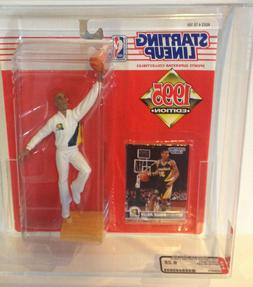 AFA 9.25 STARTING LINEUP ACTION FIGURE 1995 REGGIE MILLER NB