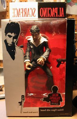 Mezco Al Pacino Scarface The Fall Tony Montana Deluxe Action