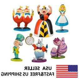 Alice In Wonderland Hatter White Rabbit Action Figure Doll C