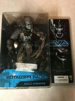 MCFARLANE TOYS Alien vs Predator AVP SCAR PREDATOR masked AC