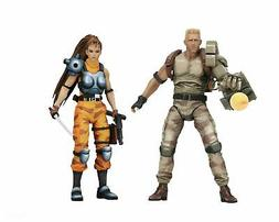 "Aliens vs Predator  - 7"" Scale Action Figure 2 pack - Dutch"