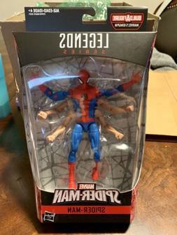 "Marvel Legends Amazing Spiderman Six-Arm Spider-man 6"" Actio"