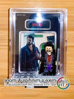 Amazon's The Boys BILLY BUTCHER Custom Carded Minifigure Dis