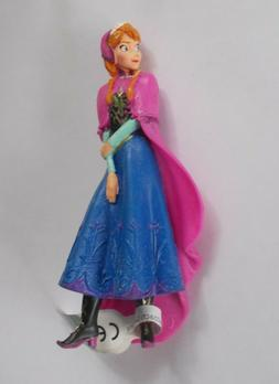 Anna Frozen Disney Film Princess Elastic Resin Rubber Action