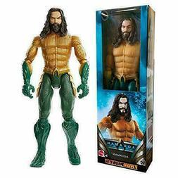 AQUAMAN 12 inch DC Comics Action Figure True Moves Mattel NI
