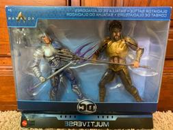 Aquaman vs Orm Action Battle Figures DC Multiverse Gladiator