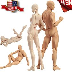 Artists Action Figure Model Human Mannequin Man Woman Set Dr