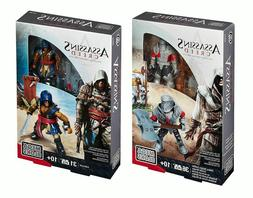 Assassin's Creed Mega Bloks Adewale & Heavy Borgia Soldier M