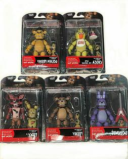 """Funko FNAF Articulated Action Figure Set 5"""" SEALED NEW AUTHE"""