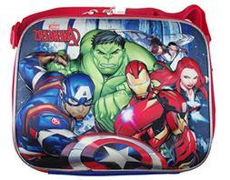 Marvel Avengers 3D Lunch Box, Officially Licensed Avengers L