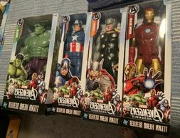 Avengers Assemble Marvel Titan Hero Series 12-inch Action Fi