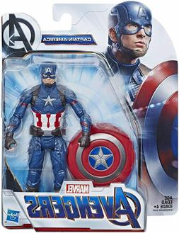 "Avengers Marvel Captain America 6""-Scale Marvel Super Hero A"
