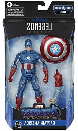"Marvel Legends Avengers Endgame Captain America 6"" Action Fi"