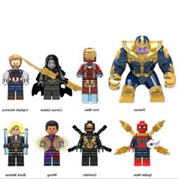 Avengers Infinity War Building Blocks Action Figures Iron Ma
