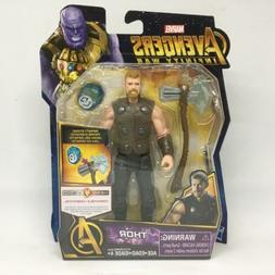 Marvel Avengers Infinity War Thor Basic Figure with Stone Le