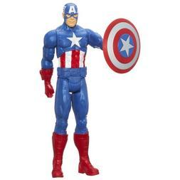 "Marvel Avengers Titan Hero Captain America 12"" Action Figure"