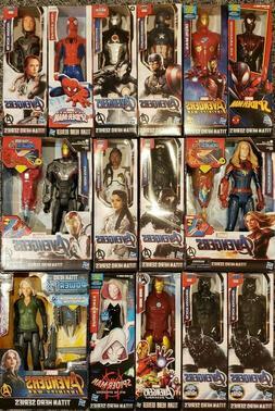 Marvel Avengers Titan Hero Series 12 Inch Action Figures Kid