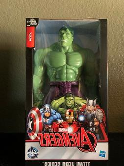 Marvel Avengers Titan Hero Series Blast Gear Deluxe Hulk Act