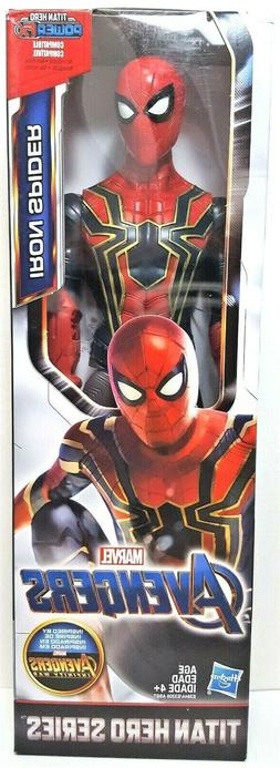 Marvel Avengers Titan Hero Series Iron Spider 12-Inch Action