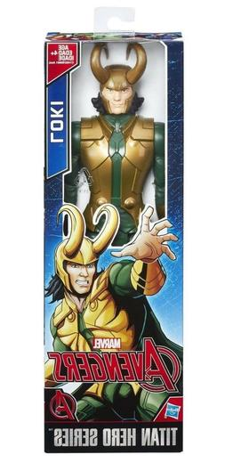 Marvel Avengers Titan Hero Series  LOKI 12-inch Action Figur