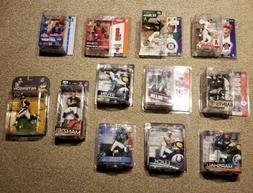 Awesome Lot of 12 McFarlane Toys SportsPicks NFL NBA MLB Act