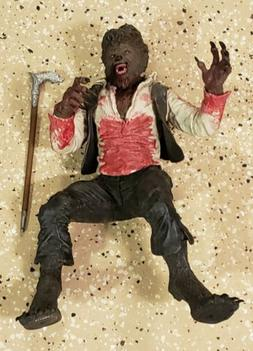 Awesome Rare Mezco The Wolfman Blockbuster Bloody Variant Lo