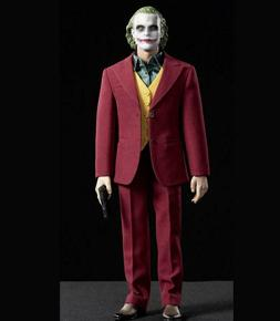 【IN STOCK】1/6 The Joker Clown Red Suit Set for 12'' Acti