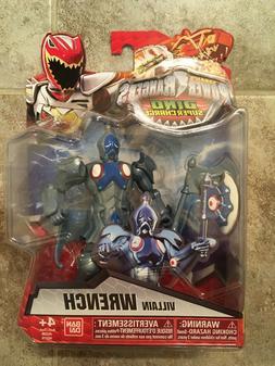 "Ban Dai Power Rangers Dino Super Charge Wrench Villain 5"" Ac"