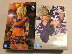 "Banpresto Bandai Dragonball Z ""Son Gohan & Goku"" Set of 2 Ac"