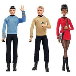 Barbie Star Trek 50th Anniversary Dolls Set of 3