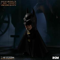"Mezco Batman 1989 Deluxe Stylized 6"" Action Figure Michael K"