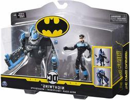 DC Comics Batman 4-Inch Nightwing Mega Gear Deluxe Action Fi