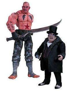 Batman Arkham City Sickle and Penguin Action Figure 2-Pack