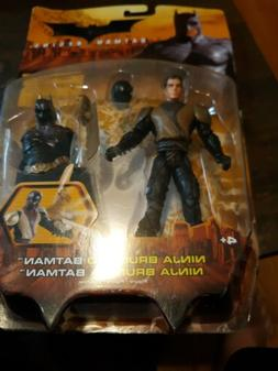batman begins ninja bruce to batman action
