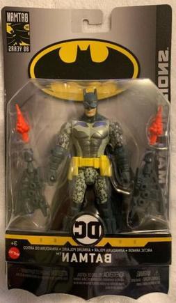 "BATMAN MISSIONS ARCTIC ARMOR BATMAN 6"" INCH ACTION FIGURE"