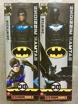 "DC Comics Batman Missions True Moves 12"" Inch Action Figures"