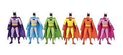 Batman Rainbow Action Figure 6-Pack