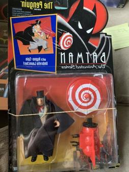 Batman the Animated Series THE PENGUIN Action Figure Red Whi