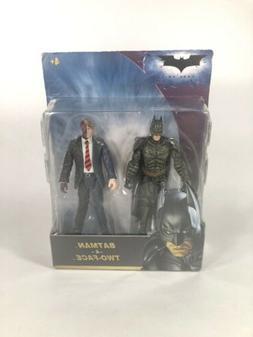 Batman The Dark Knight Batman & Two-Face 2-Pack 4 inch Actio