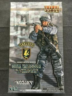 """BBI 1/6 Scale 12"""" Elite Force Russian MVD Krechet Falcon Act"""