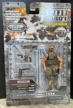 BBI 21715 Elite Force William Thomas  1/18 Special Ops Navy