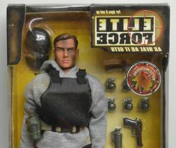 "BBI CIA Force 12"" Action Figure 1/6th NIP Elite Force Blue B"
