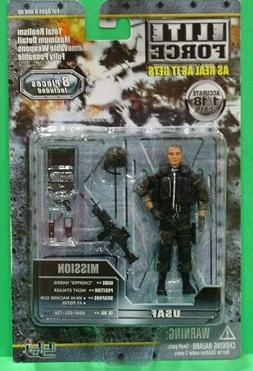 BBI Elite Force 1/18 USAF Night Stalker Chopper Harris Actio