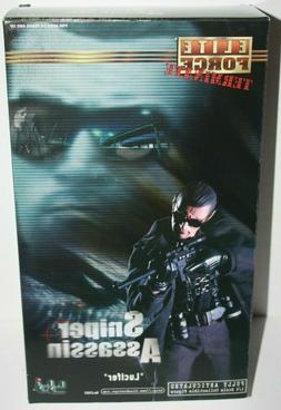 """BBI Elite Force 1/6 Sniper Assassin Lucifer 12"""" Action Figur"""