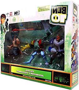 Ben 10 Exclusive Action Figures Vilgax, Aggregor, and Vulcan