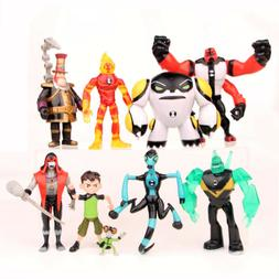 Ben 10 PVC Action Figure Doll Play set Toy Cake Topper Wildm